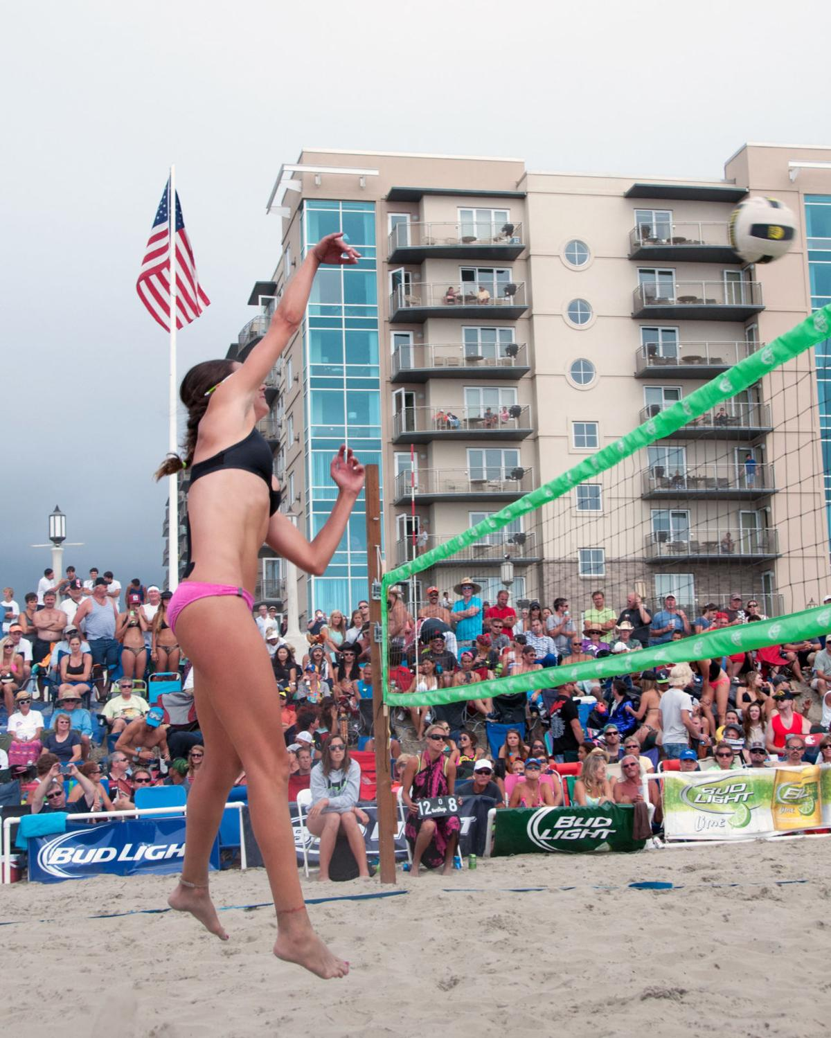 Seaside gears up for 'world's largest' beach volleyball event