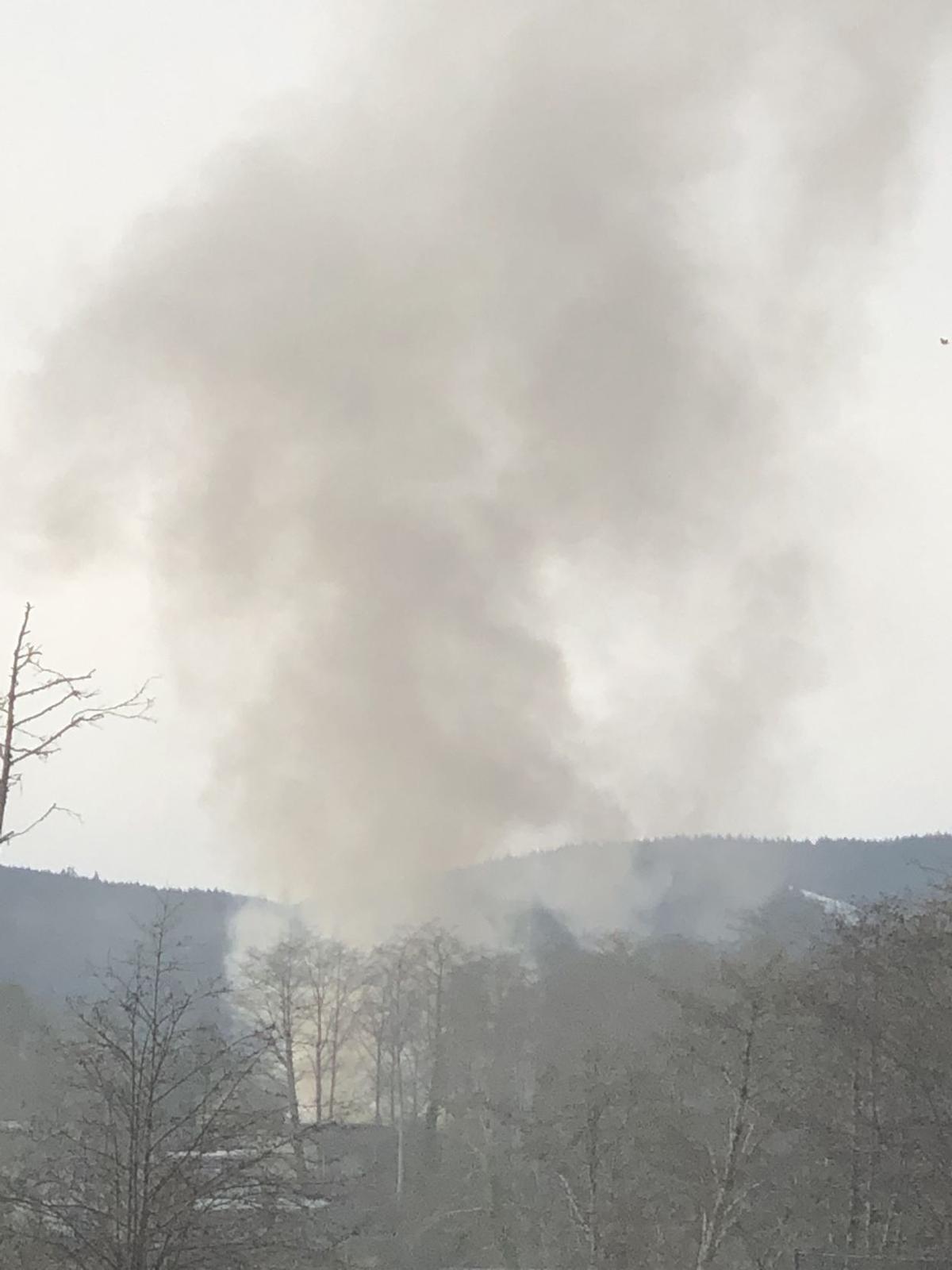 South Wahanna blaze stalls traffic