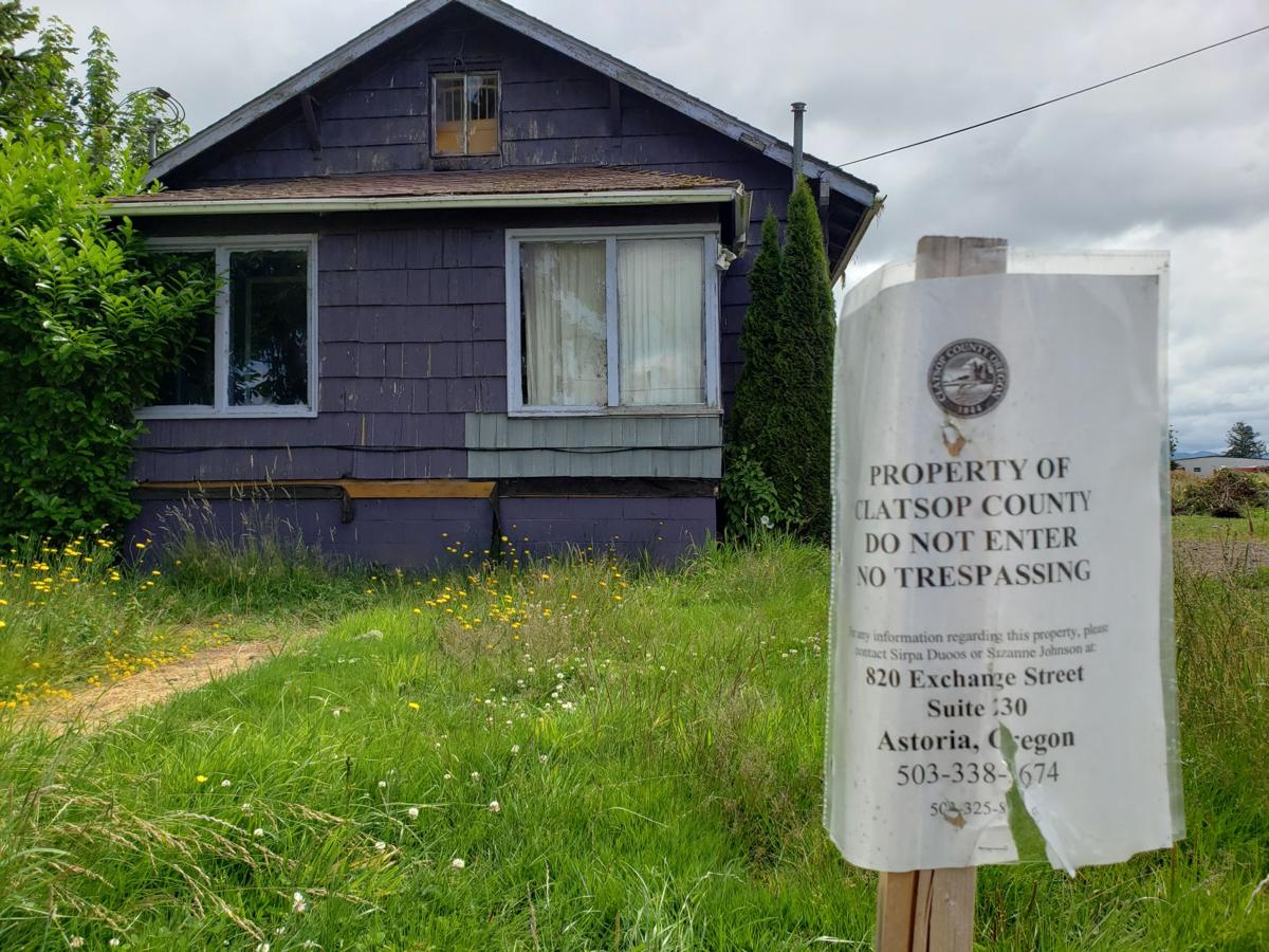 Foreclosed property at Jeffers Garden on G Road