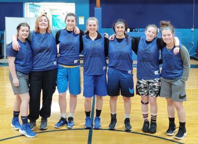 Jewell girls basketball team