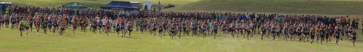 Cross-country runners