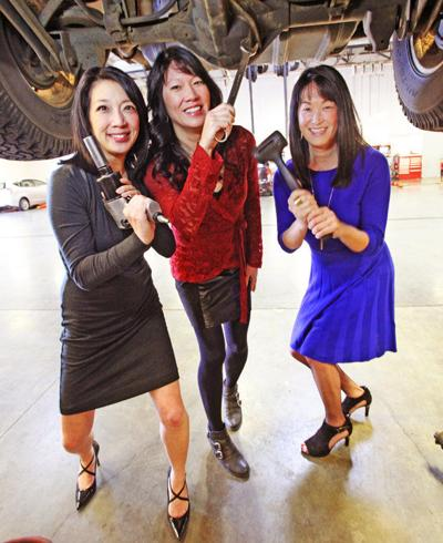 'Lum girls' honored with Lady Liberty awards