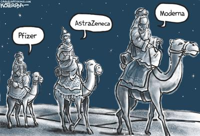 Three wise men and vacccines