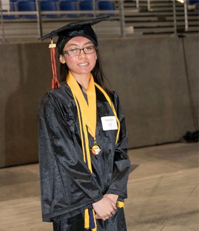 Gearhart's Abigale Koch is graduate
