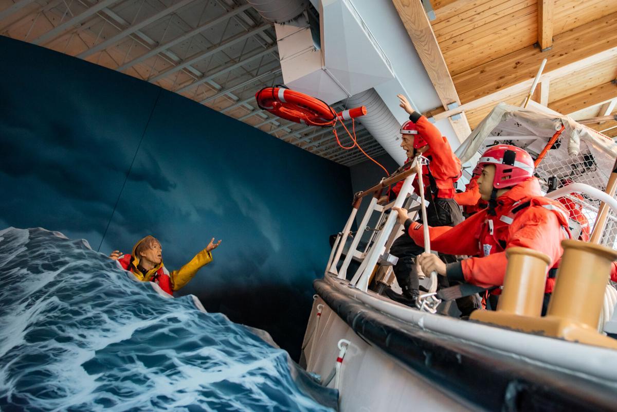 Coast Guard exhibit