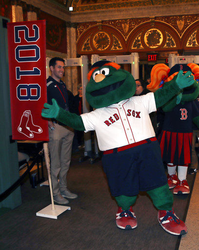 Absent Eovaldi steals show at Red Sox video premiere