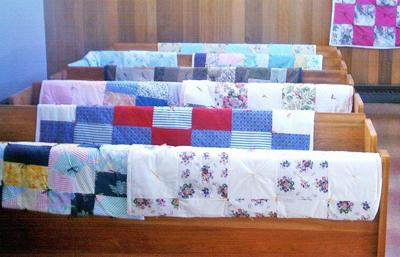 Our Saviour's seeks fabric for quilts