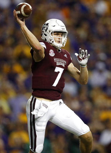 Passing problems return for unbalanced Mississippi State