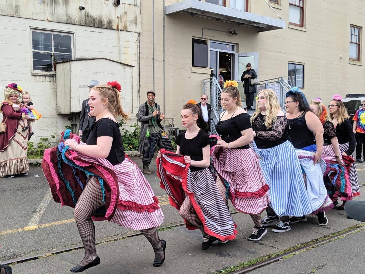 Astoria Pride dancers