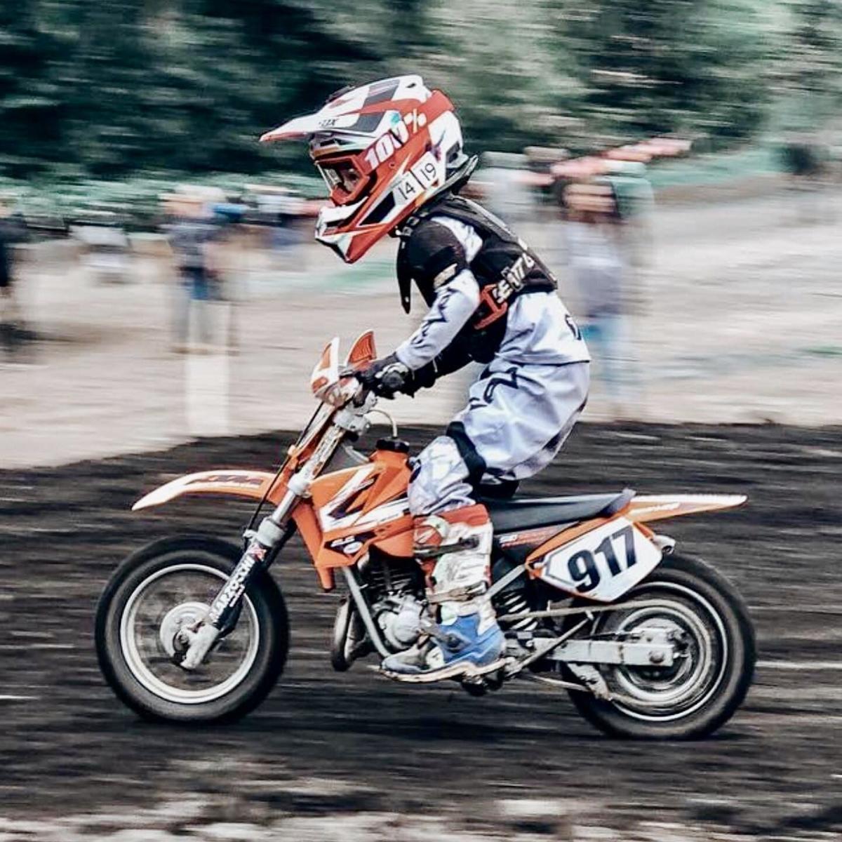 Cole Clayton, motocross