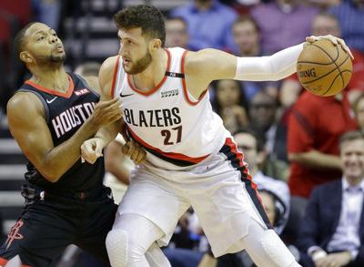 Lillard, Nurkic score 22 each as Blazers rout Rockets 104-85