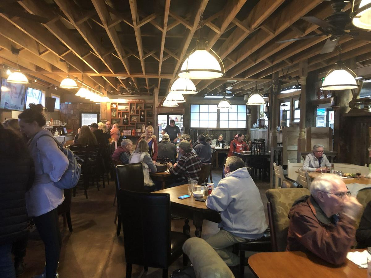 Patrons enjoy one more meal at deli and pub