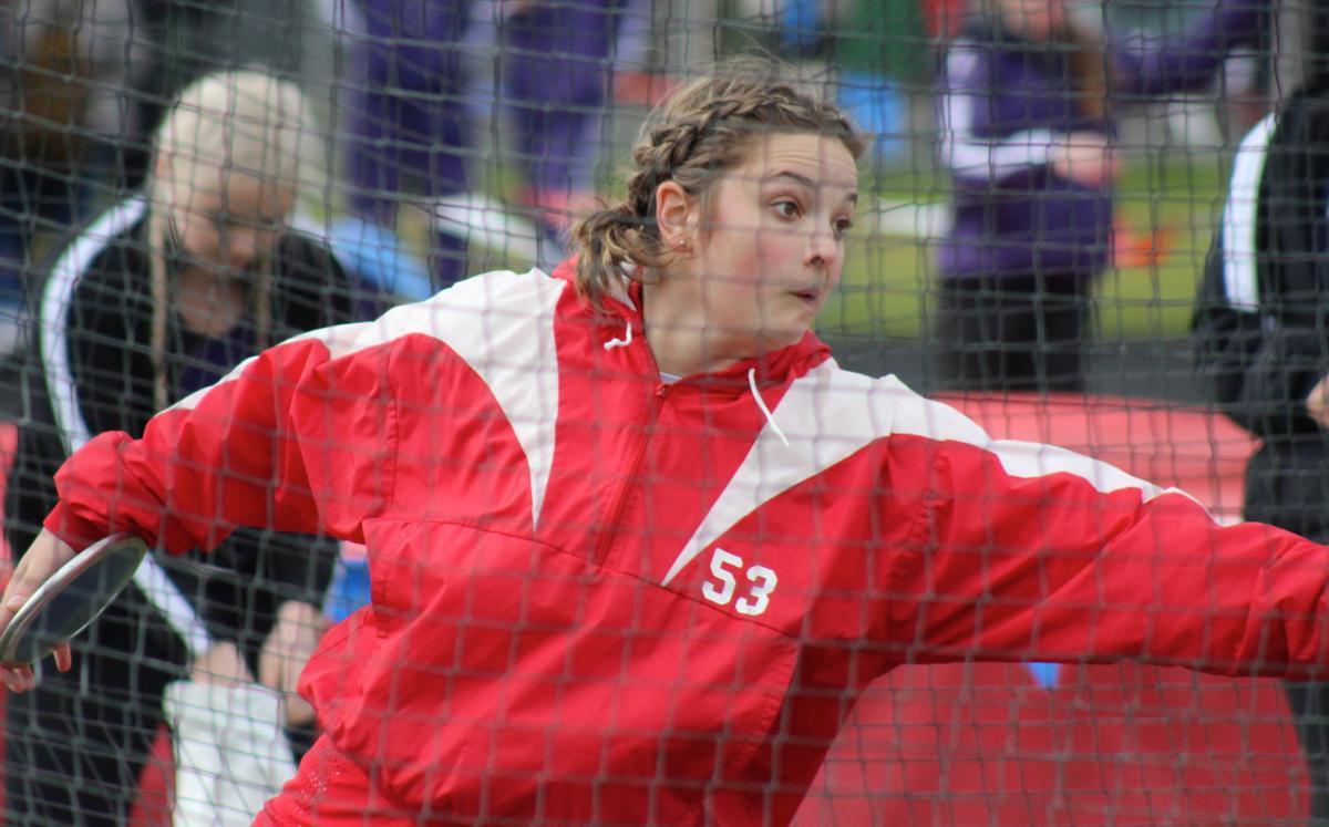 Seaside thrower Gretchen Hoekstre