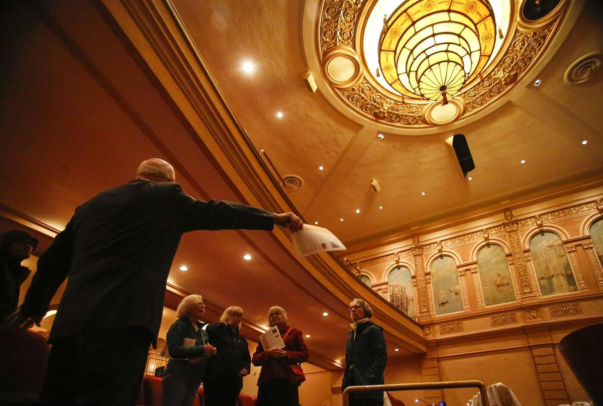 Liberty Theater shines at open house