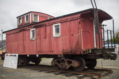 Caboose in Seaside