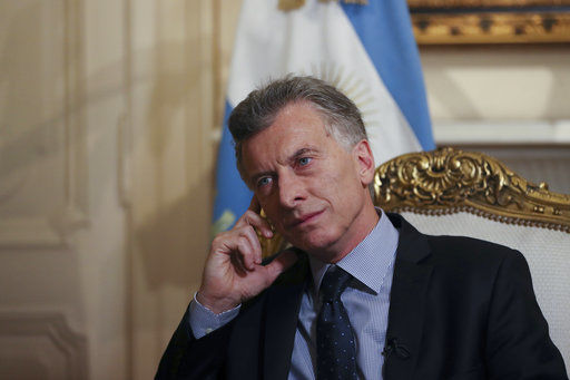 AP Interview: Argentine leader sees tough road ahead