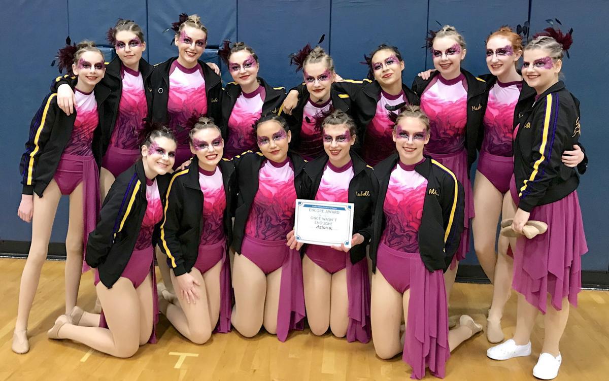 Astoria dance team Pizazz