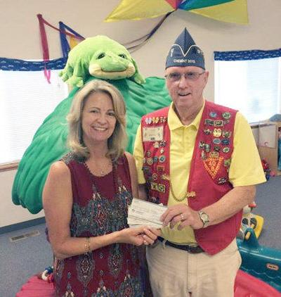 Veterans give gift to relief nursery