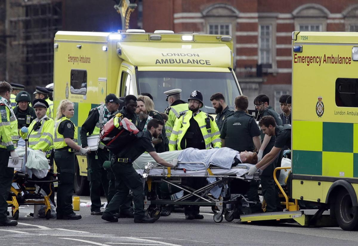 Four dead in vehicle, knife attack at British Parliament