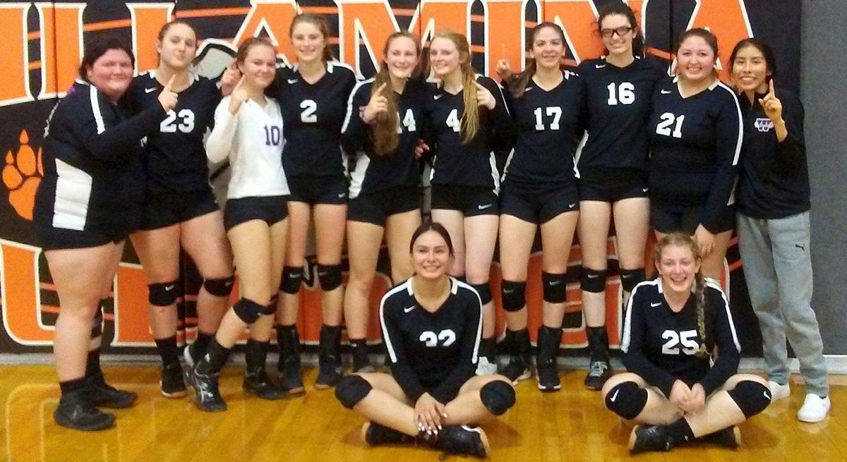 Warrenton's volleyball team