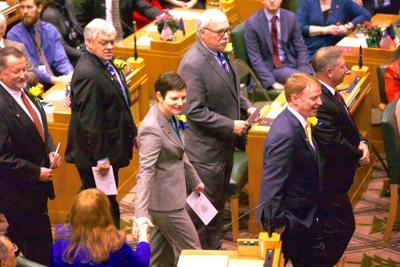 Second senator formally complains against Kruse