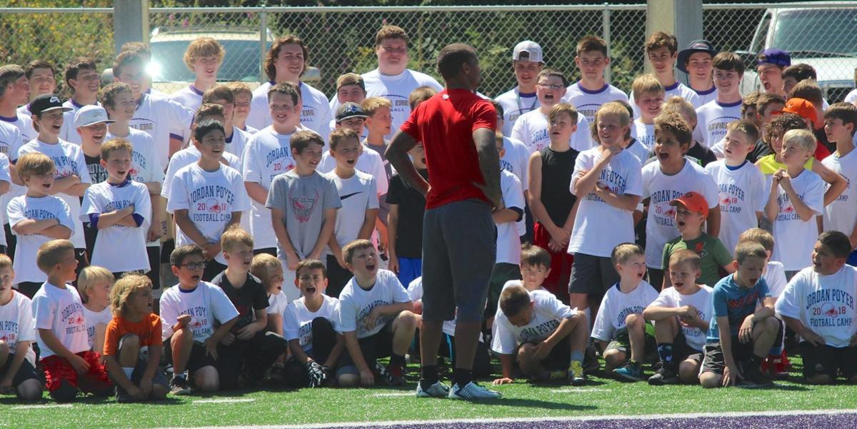 Jordan Poyer, football camp