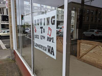 Music store closes in downtown Astoria