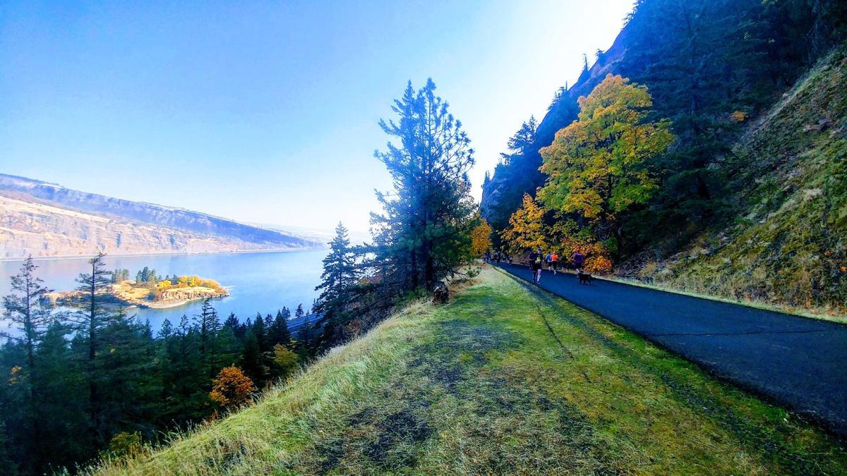 Memaloose Island and the Columbia Gorge