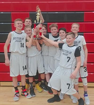 Astoria Anglers basketball team