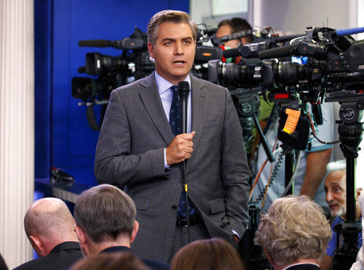 Trump insults reporters, claims Acosta video wasn't altered