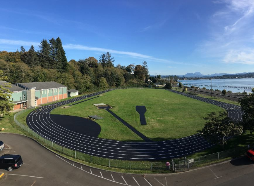 New track for Astoria High School