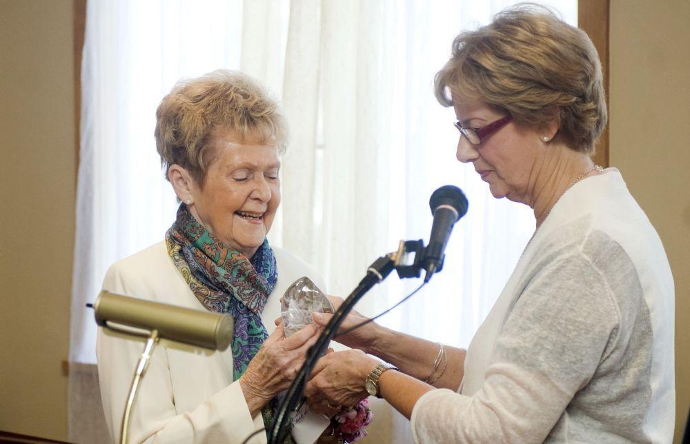 Cheri Folk and June Spence