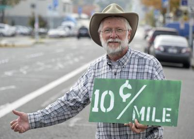 Retired teacher offers 10 cents a mile when hitchhiking