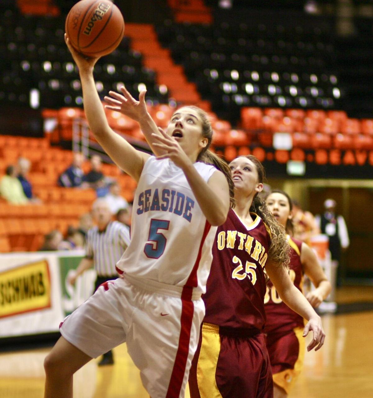 Marla Olstedt, Seaside basketball