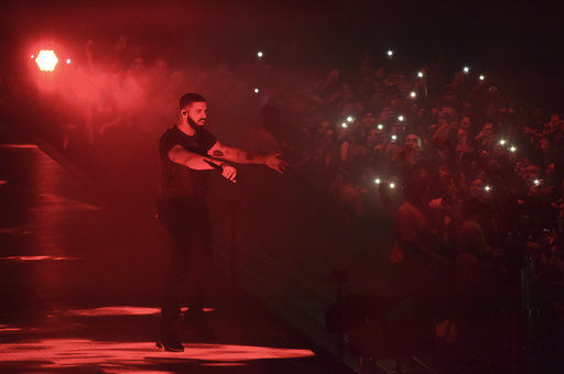 Drake tops Spotify's 2018 list with 8.2 billion streams