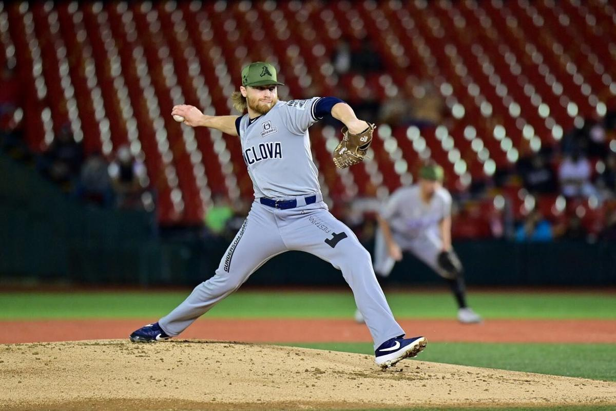 Conor Harber, pitcher, Acereros