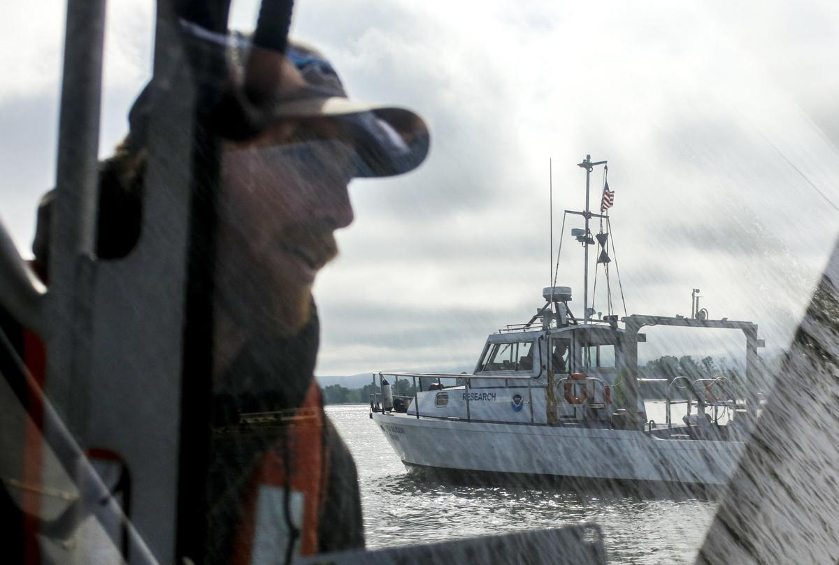It takes two to trawl for science