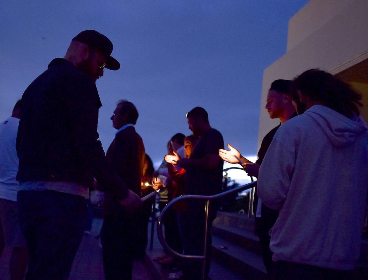 Vigil honors man killed in motorcycle crash