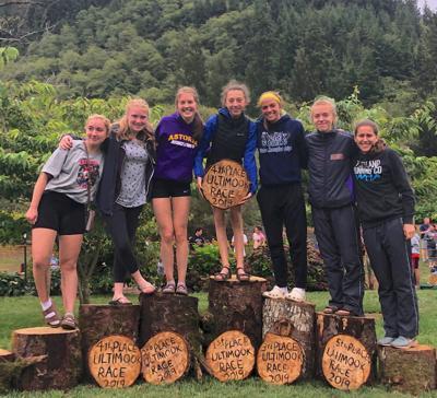Astoria girls cross country team