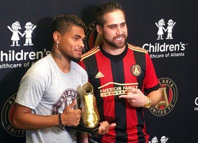 Josef Martinez picks up Golden Boot from surprise presenter