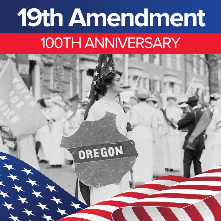 19th Amendment logo