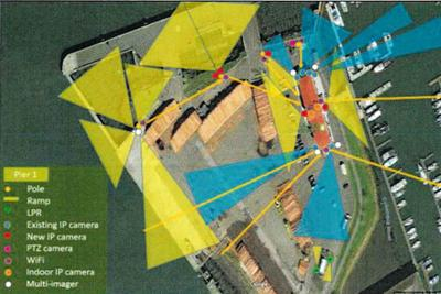 Port prepares to boost surveillance along waterfront