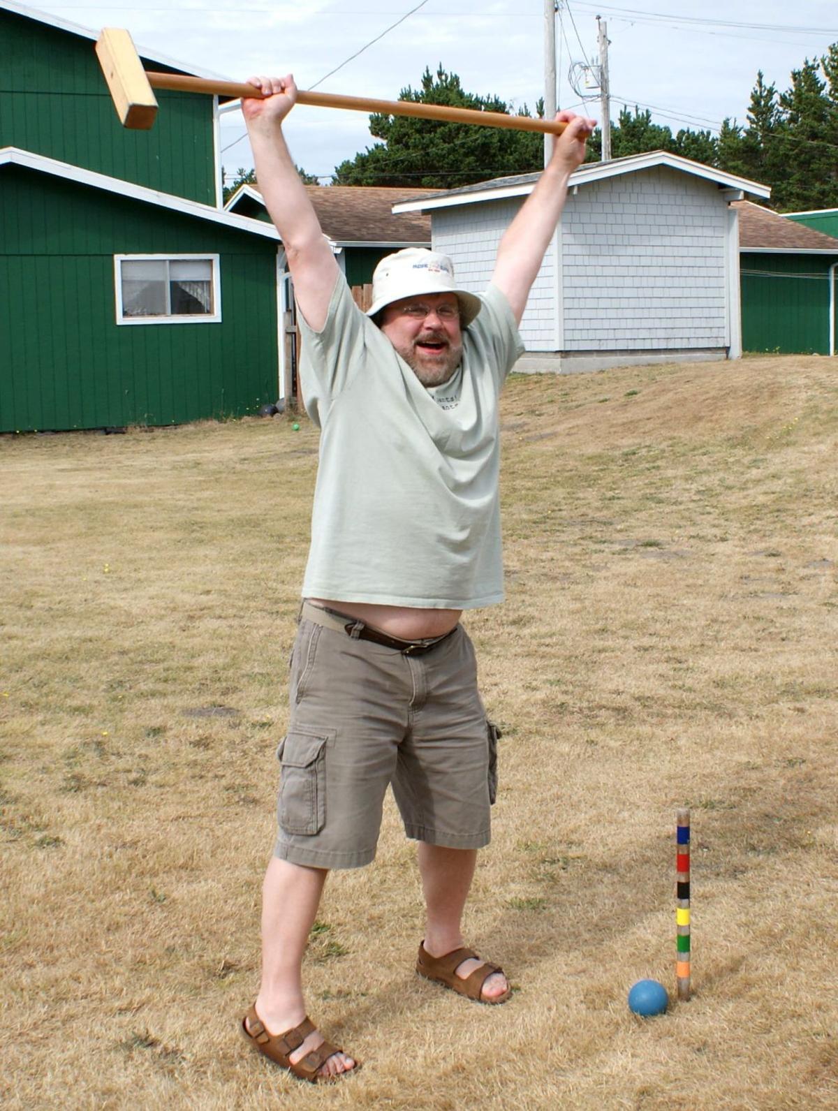 Tough-guy croquet