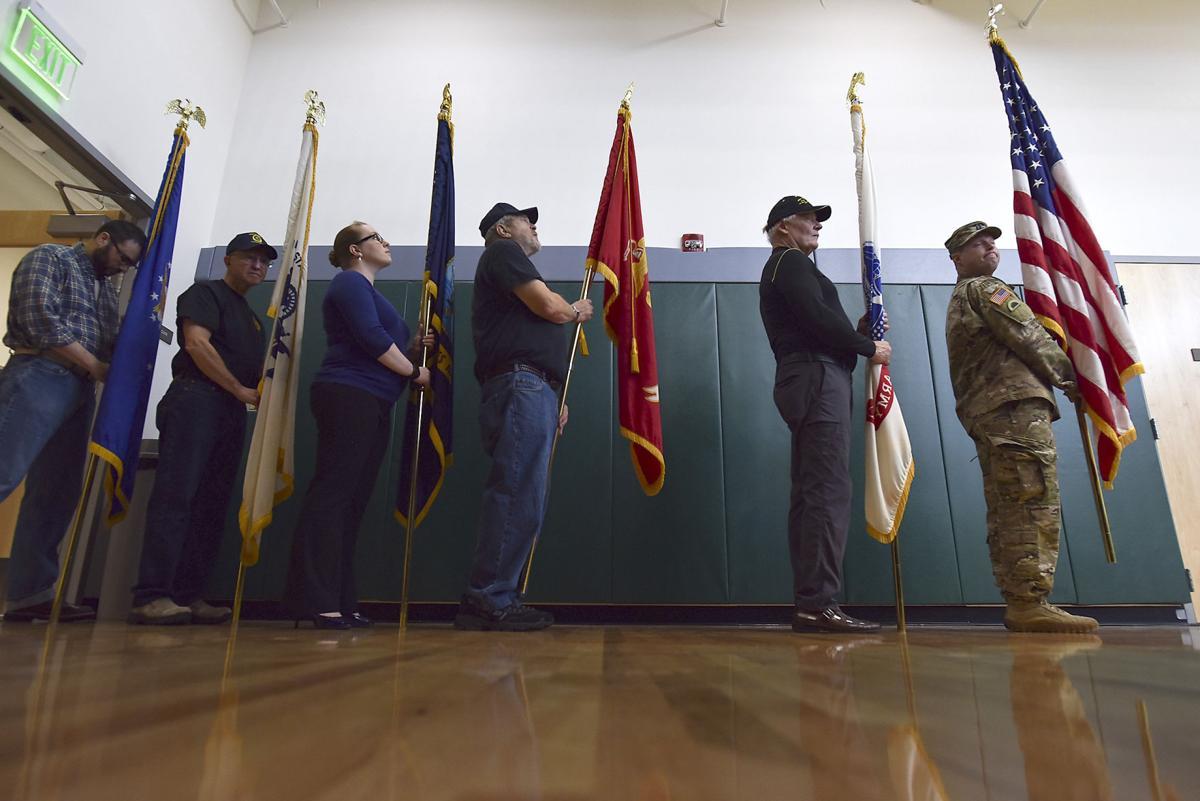 College rededicates hall honoring veterans