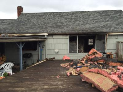 Major damage to home in Seaside blaze
