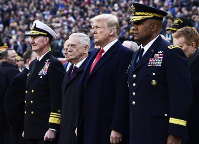 Trump Navy Army Football
