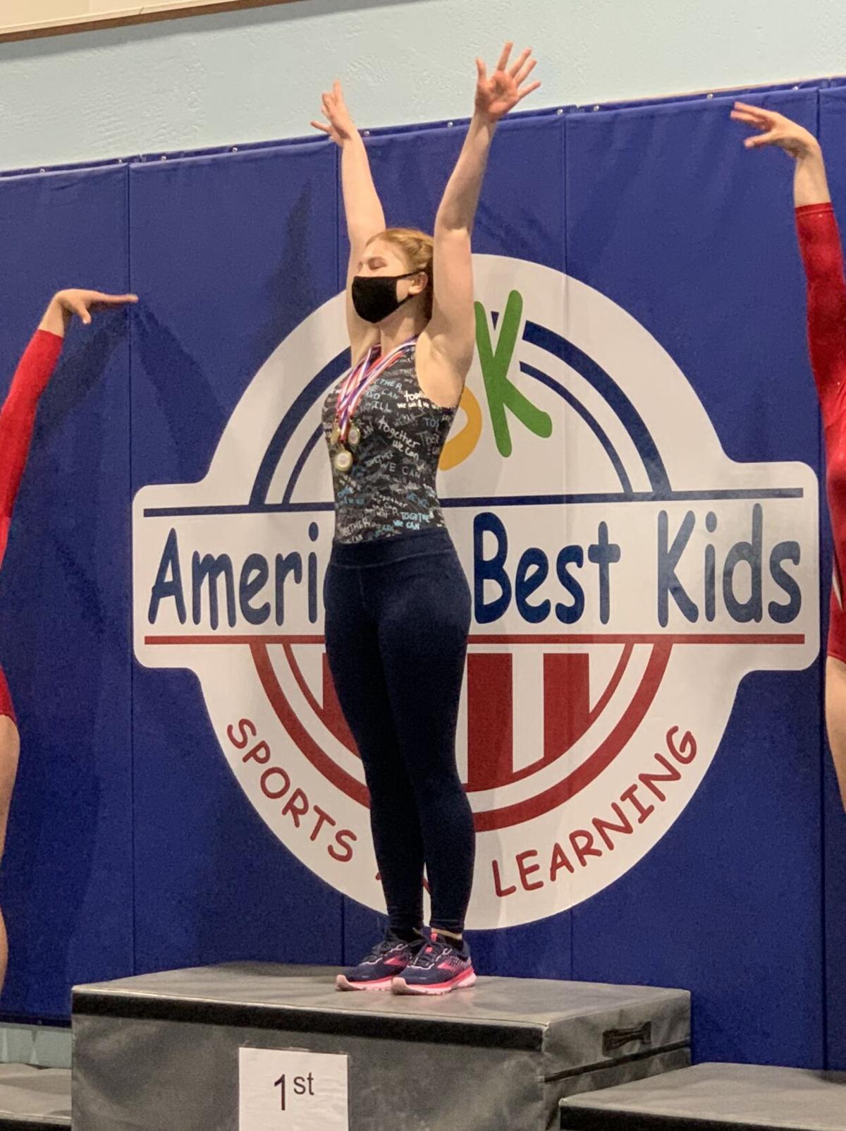 Maevri Bergerson, gymnast