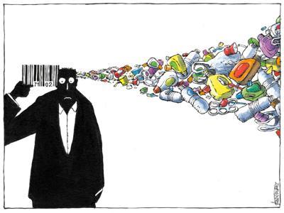 Plastic suicide