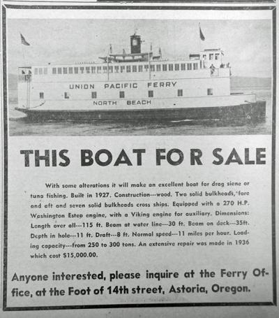 Ferry sale