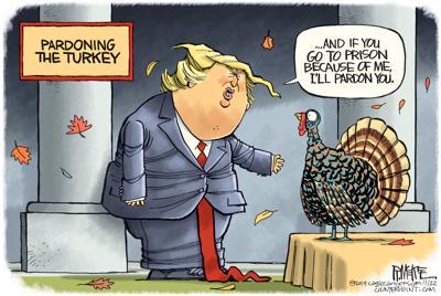 Pardoning the turkey